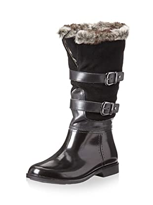 Storm by Cougar Women's Salma Rain Boot (Black Suede)