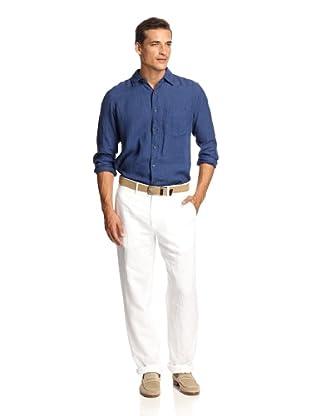 Ballin Men's Casual Pants (White)