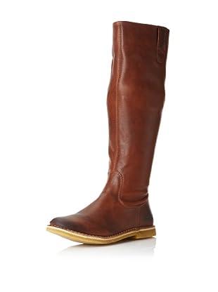 Kickers Women's Credo2 Boot (Light Brown Leather)