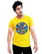 Incynk Men's T-Shirt - MSS118 (Yellow)