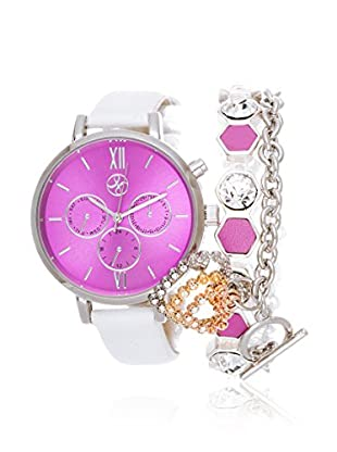 Arm Candy Women's NXS5290M1-FU Purple Stainless Steel/Leather Watch