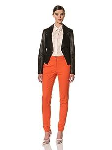 Andrew Marc Women's Tiffany Leather Jacket (Black)