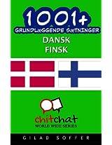 1001+ grundlæggende sætninger dansk - Finsk