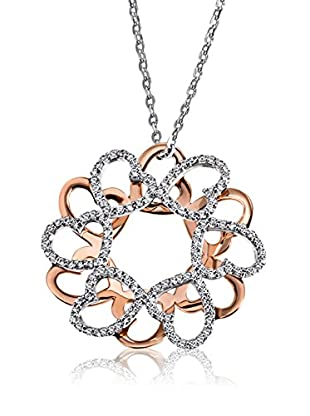 Goldmaid Halskette  silber/gold