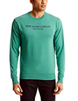 Pepe Jeans Men's Round Neck Cotton Sweatshirt