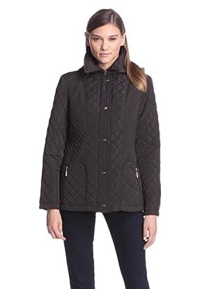 Calvin Klein Women's Quilted Jacket (Espresso)