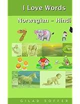 I Love Words Norwegian - Hindi