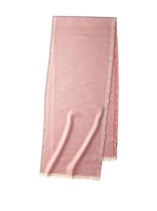 Valentino Women's Wool Damier Scarf, Pink