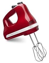 Kitchenaid 5 Speed Hand Mixer - Empire Red