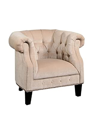 Abbyson Living Bellagio Nailhead Trimmed Armchair
