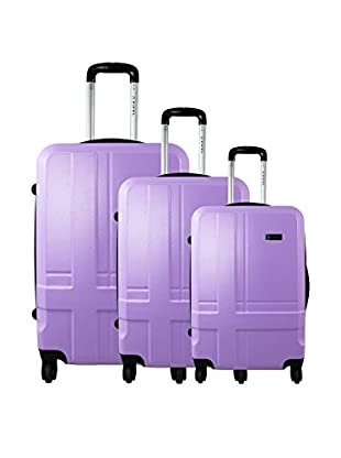 ZIFEL Set 3 Trolley Rigido Polypro