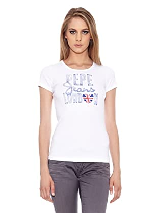 Pepe Jeans London Camiseta Mini Out (Blanco)