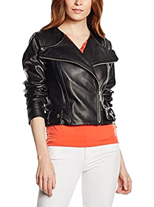 Michael Kors Chaqueta Crw Nk Asym Leather Mot
