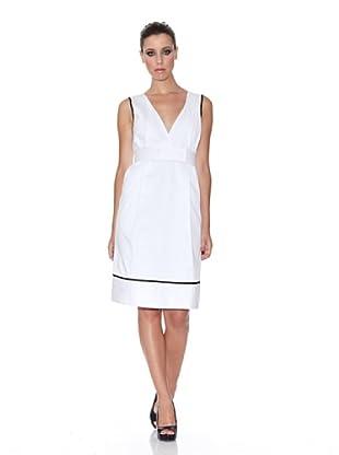 Caramelo Vestido Fiesta (blanco)