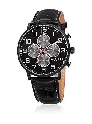 Akribos XXIV Reloj de cuarzo Man AK854BK 42 mm