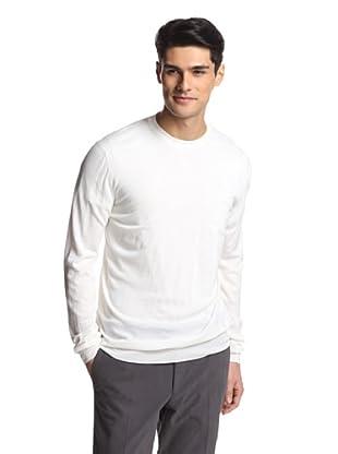 Salvatore Ferragamo Men's Crew Neck Sweater (Cream)
