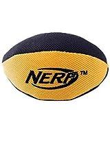 Nerf Dog Trackshot Squeaker Football, 5-inch