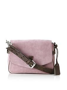 Gryson Women's Ellie Belted Small Shoulder Bag (Purple Calf)