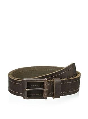 Timberland Men's Vintage Harness Belt (Dark Brown)