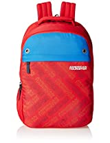 American Tourister Red Casual Backpack (AMT ALLER2016 BACKPACK02_8901836129359)