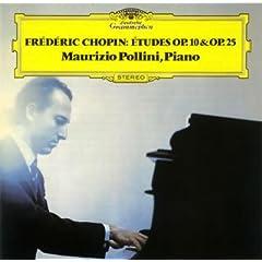 マウリツィオ・ポリーニ演奏 ショパン:12の練習曲 作品10/作品25の商品写真