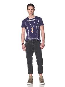 Antony Morato Men's Five Pocket Twill Pant (Black)