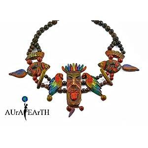 AUrA-EArTH Tribal Necklace