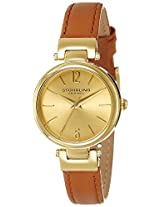 Stuhrling Original Analog Gold Dial Women's Watch - 956.02