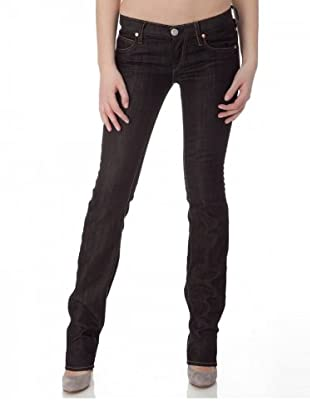 Herrlicher Jeans Strech Skinny Fit Straight Leg (Dunkelblau)
