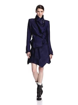 Ann Demeulemeester Women's Aspect Jacket (Blue)