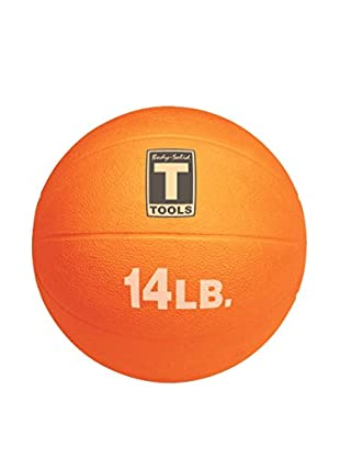 Body Solid 14 lbs. Medicine Ball, Orange
