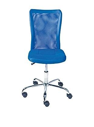 13CASA Silla De Oficina Ufficio Azul