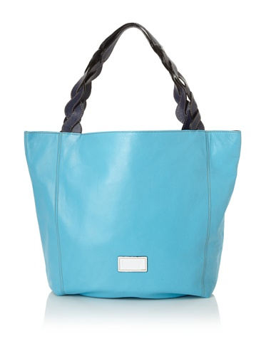Meredith Wendell Women's Curve Strap Tote (Surf Blue)