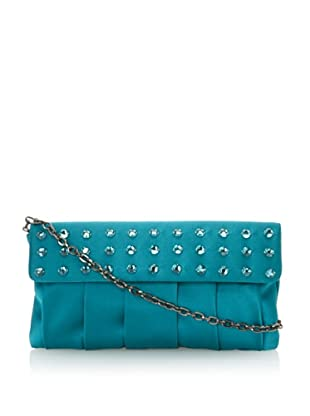 Inge Christopher Women's Zsa Zsa Flap Top Clutch (Peacock)