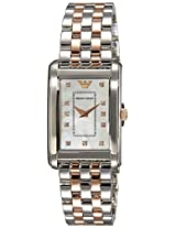 Emporio Armani Analog Mother of Pearl Dial Women's Watch - AR1905