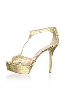 Pour La Victoire Women's Ilena Platform Sandal (Gold)