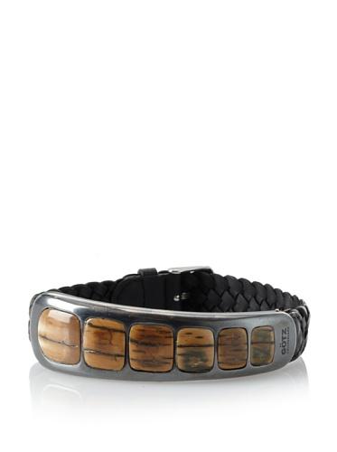 GÖTZ Switzerland Narrow Mother Earth Bracelet, Black