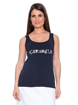 Caramelo Camiseta Mary (Azul)