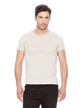 Calvin Klein Jeans Camiseta Basic M / C (Gris Claro)