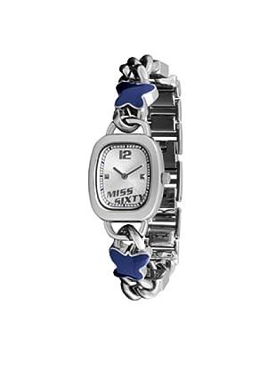Miss Sixty Sqz003 - Reloj de mujer de cuarzo, correa de acero inoxidable color plata