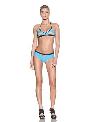 VPL Women's Deltoid Bikini Bottoms (Faberge)