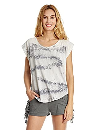 The Hip Tee T-Shirt Distressed Graphite