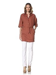 Escada Sport Women's Degan Short Sleeve Dress (Pumpkin)