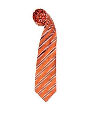 Olimpo Corbata Rayas (Naranja)