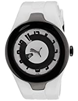Puma Analog White Dial Men's Watch - 88442001