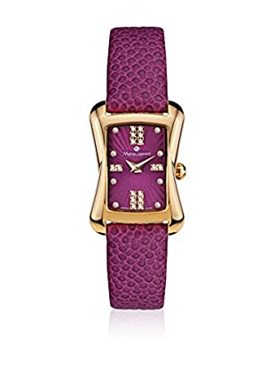 Mathieu Legrand Reloj de cuarzo Woman Violeta 22.0 mm