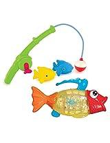 Munchkin Gone Fishin Bath Toy With Twisty Fish Bath Toy