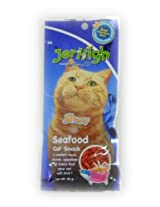 Jer High Cat Snack /Jerhigh Jinny Sea Food 40G Real Chicken Meat