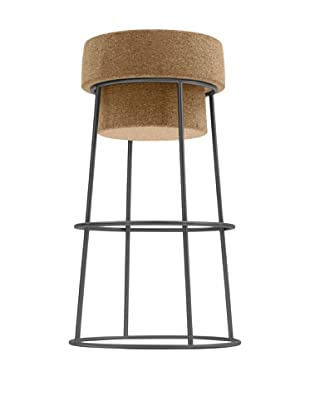 Domitalia Bouchon Bar Stool, Graphite