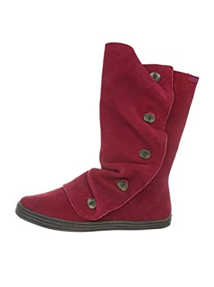 Blowfish Rammed leather BF2487-L AU12, Stivali donna (Rosso (Rot (wine cow suede BF236)))